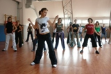 Irena reggaeton class at 2nd Salsa Power festival