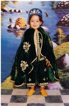 Talal at age 3.