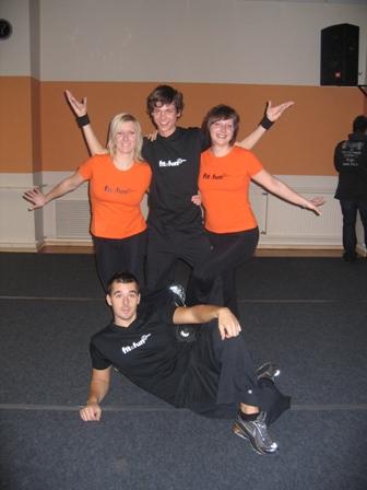 Half of current Fit&Fun centerteam