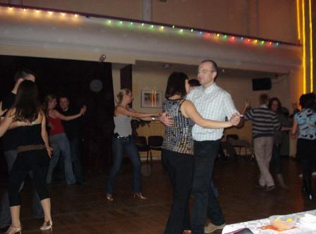 Social dancing inBolero.