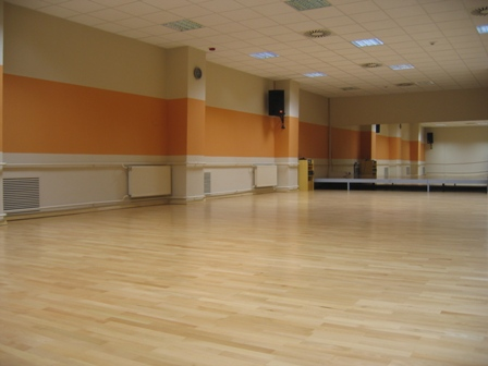 Aerobic and dancing hall in Metalka