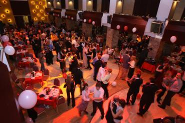 Valentines' social dancing in Festivalnadvorana